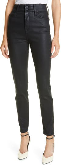 Oriana Coated Ankle Skinny Jeans GRLFRND