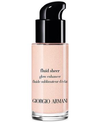 Жидкий хайлайтер для макияжа с эффектом прозрачного сияния для путешествий Giorgio Armani