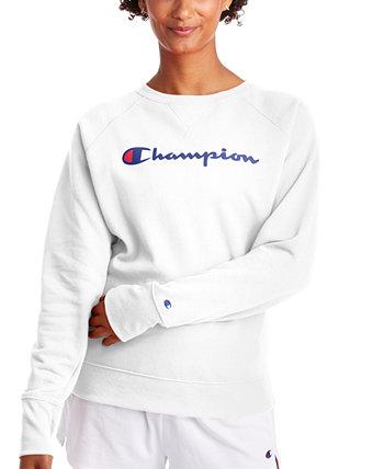 Женская толстовка с круглым вырезом Powerbled с графическим принтом Champion
