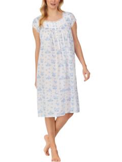 Плетеное платье в стиле вальс с короткими рукавами Eileen West