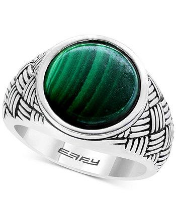 Мужское кольцо EFFY® с малахитом из стерлингового серебра EFFY Collection