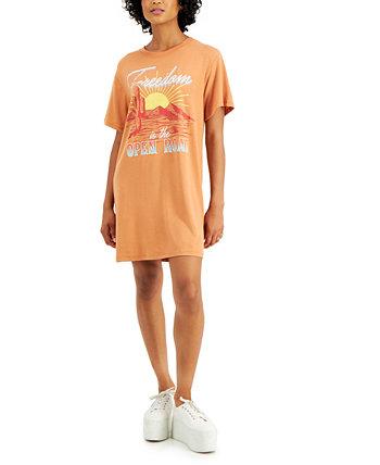 Платье-футболка для юниоров Open Road Love Tribe