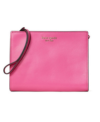 Spencer Leather Wristlet With Gusset Kate Spade New York