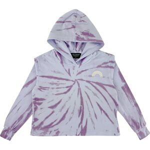 Purple Skies Sweatshirt Tiny Whales
