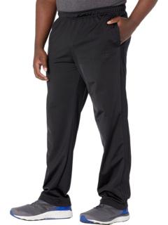 Трикотажные брюки с 3 полосками и открытыми краями Big & Tall Essential Adidas