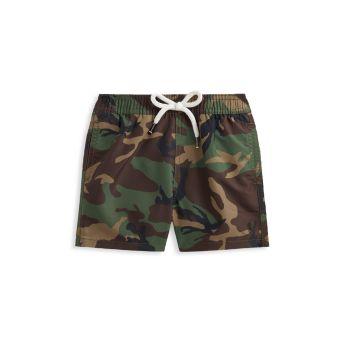 Камуфляжные плавательные шорты для маленьких мальчиков Ralph Lauren