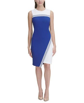 Миниатюрное платье-футляр с цветными блоками Tommy Hilfiger
