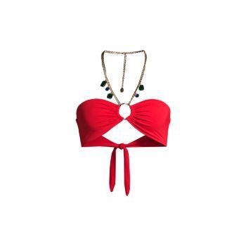 Ожерелье Кольцо Верх бикини-бандо WeWoreWhat