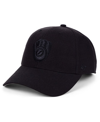 Милуоки Брюерс Черная серия MVP Cap '47 Brand