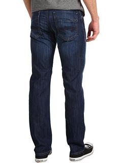 Зак Закрепленная Прямая Нога в Темных Мауи Mavi Jeans