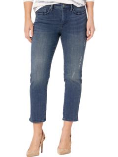 Petite Sheri Slim Ankle Jeans in Greenwich NYDJ Petite