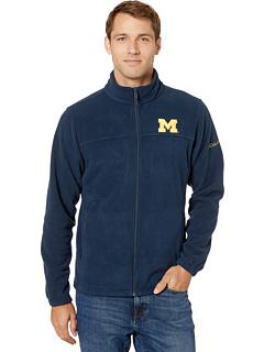 Флисовая куртка Michigan Wolverines CLG Flanker ™ III Columbia College