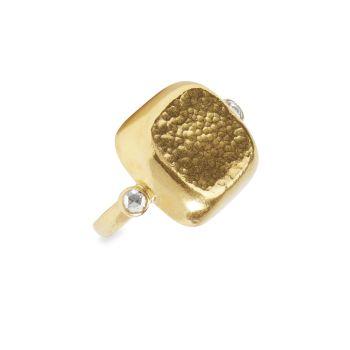 Bon Bon 24K желтое золото & amp; Бриллиантовое кольцо Gurhan