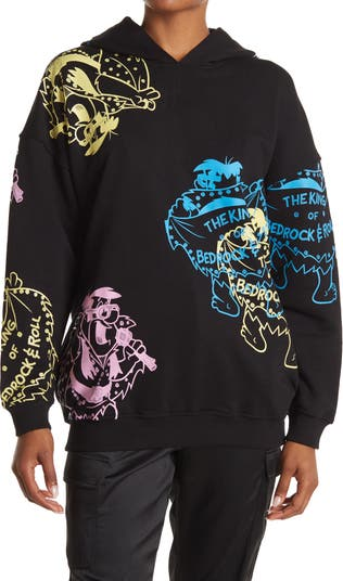 The King of Bedrock & Roll Graphic Hoodie Jeremy Scott