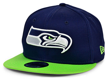 Бейсболка Seattle Seahawks Basic Fashion 9FIFTY Snapback New Era