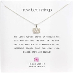 Ожерелье New Beginnings Rising Lotus Dogeared