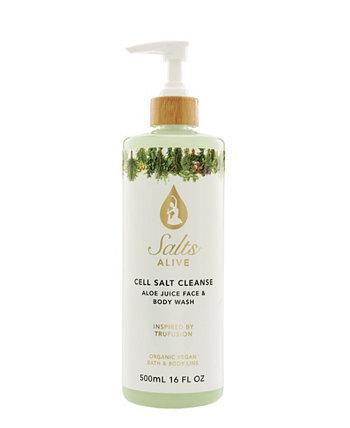 Средство для мытья тела Cell Salt Cleanse feat. Масло семян конопли Tiffany Andersen Brands