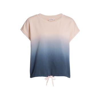 Рубашка для мышц с кулиской Lea Dip-Dye THE UPSIDE