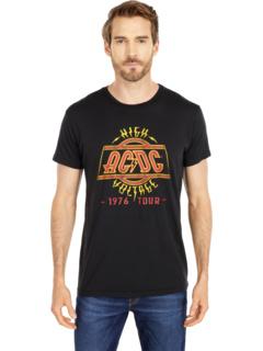 Винтажная хлопковая футболка ACDC высокого напряжения The Original Retro Brand