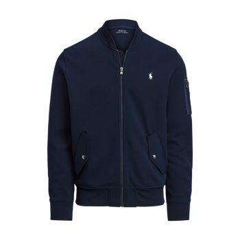 Куртка-бомбер двойной вязки Polo Ralph Lauren