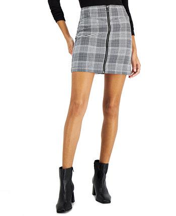 Вельветовая юбка с принтом для юниоров, созданная для Macy's Tinseltown