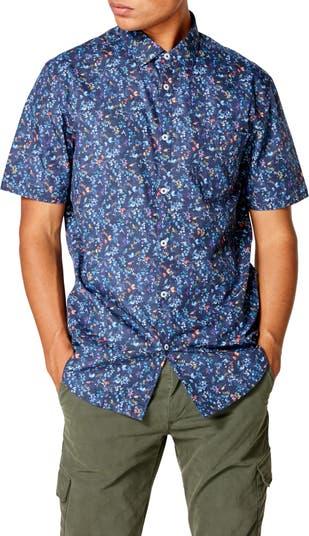 Приталенная рубашка на пуговицах с короткими рукавами On Point Good Man Brand