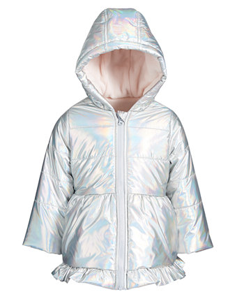 Baby Girls Iridescent Parka, Created for Macy's First Impressions