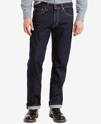 Мужские прямые джинсы 505 ™ стандартного кроя Levi's®