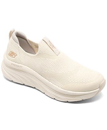 Relaxed Fit для женщин: D'Lux Walker - спортивные кроссовки для быстрой ходьбы от Finish Line SKECHERS