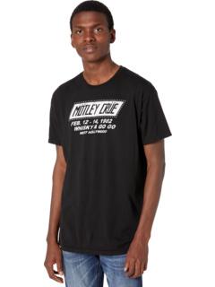 Винтажная хлопковая футболка Motley Crue The Original Retro Brand