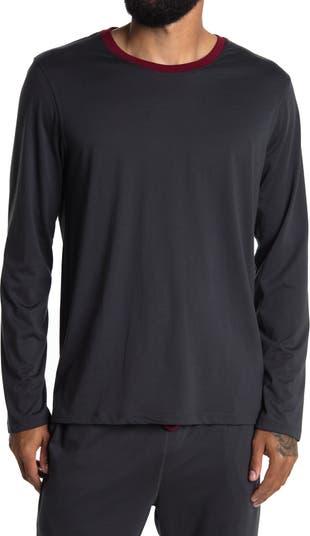 Рубашка для сна с длинным рукавом и круглым вырезом Daniel Buchler