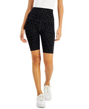Leopard-Print Bike Shorts LNA