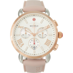 Двухцветные часы Sporty Sport Sail из розового золота Michele