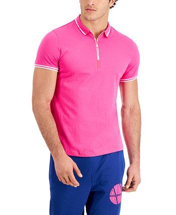 Мужская футболка-поло на молнии с логотипом Armani Exchange