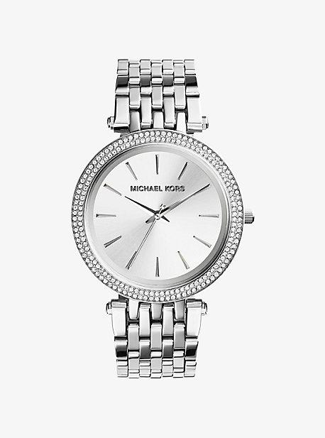 Серебряные часы Darci Michael Kors