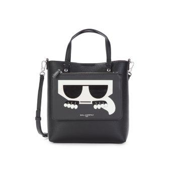 Сумка через плечо из искусственной кожи с логотипом Karl Lagerfeld Paris