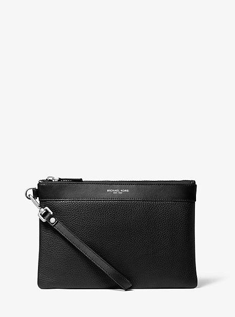 Кожаная сумка для путешествий с галькой Michael Kors