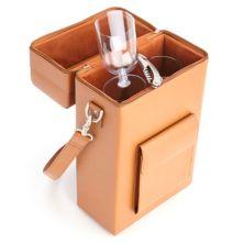 Кожаная сумка для вина Royce Connoisseur Wine Carrier Royce Leather