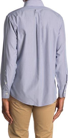 Полосатая рубашка Regent Fit Brooks Brothers