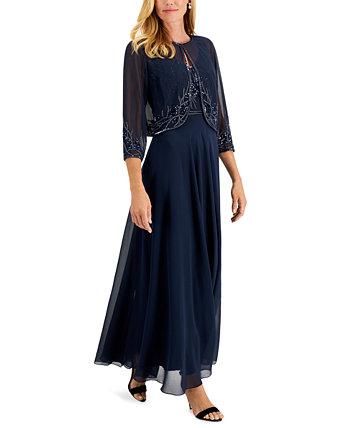 Украшенное платье и куртка J Kara