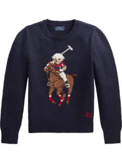 Свитер Polo Bear из хлопка и шерсти (Big Kids) Ralph Lauren