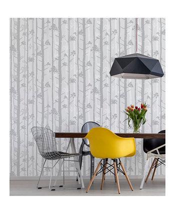 "Обои Sydow Birch Tree - 396 ""x 20,5"" x 0,025 "" Brewster Home Fashions"