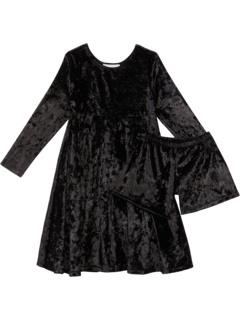 Бархатное платье Emma (для маленьких / больших детей) Fiveloaves twofish