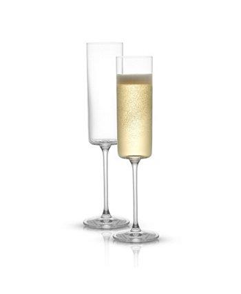 Бокалы для шампанского Claire, набор из 2 шт. JoyJolt