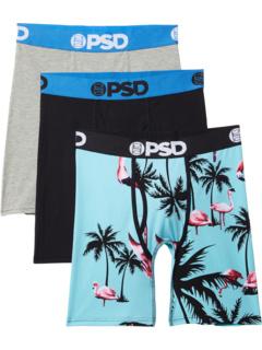 3 пары модальных фламинго PSD