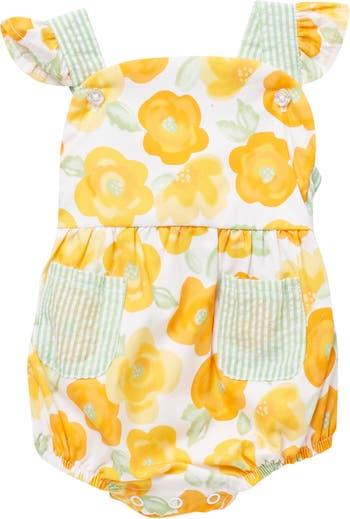 Комбинезон-сарафан с цветочным принтом Baby Starters