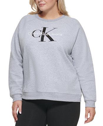Толстовка с модным рисунком Calvin Klein Plus Calvin Klein