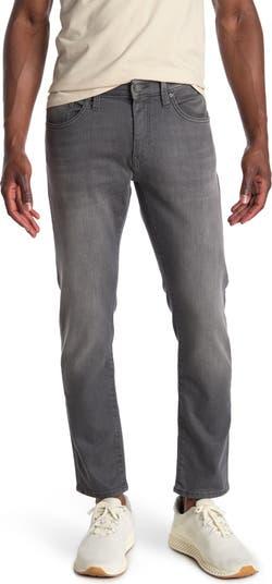 Светло-серые зауженные джинсы Jake Mavi