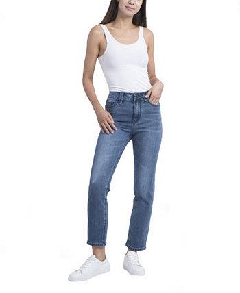 Женские прямые джинсы Rubberband Stretch