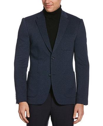 Мужская трикотажная фактурная стрейч-куртка из трикотажа для больших и высоких Perry Ellis